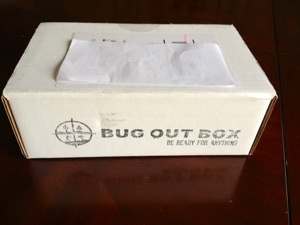 March Bug Out Box Review